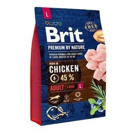 Brit By Nature Adult L 3kg
