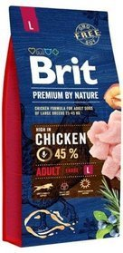 Brit By Nature Adult Large L 15kg