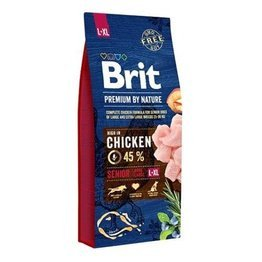 Brit By Nature Senior L + XL 15kg
