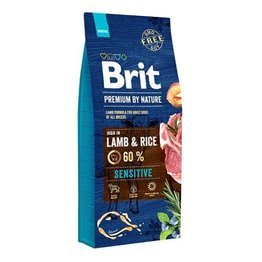 Brit By Nature Sensitive Adult Lamb & Rice 15kg